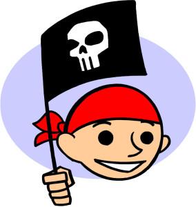 schatzsuche kinder mit piraten motto