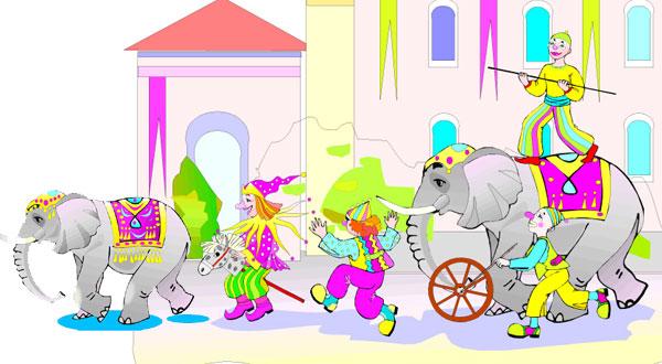 zirkus kindergeburtstag schatzsuche