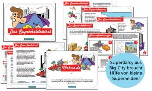 kindergeburtstag schatzsuche mit superheld thema