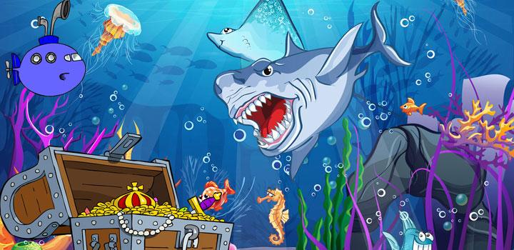 unterwasser schatzsuche für kindergeburtstag