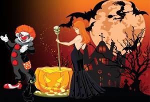 halloween kinder schatzsuche