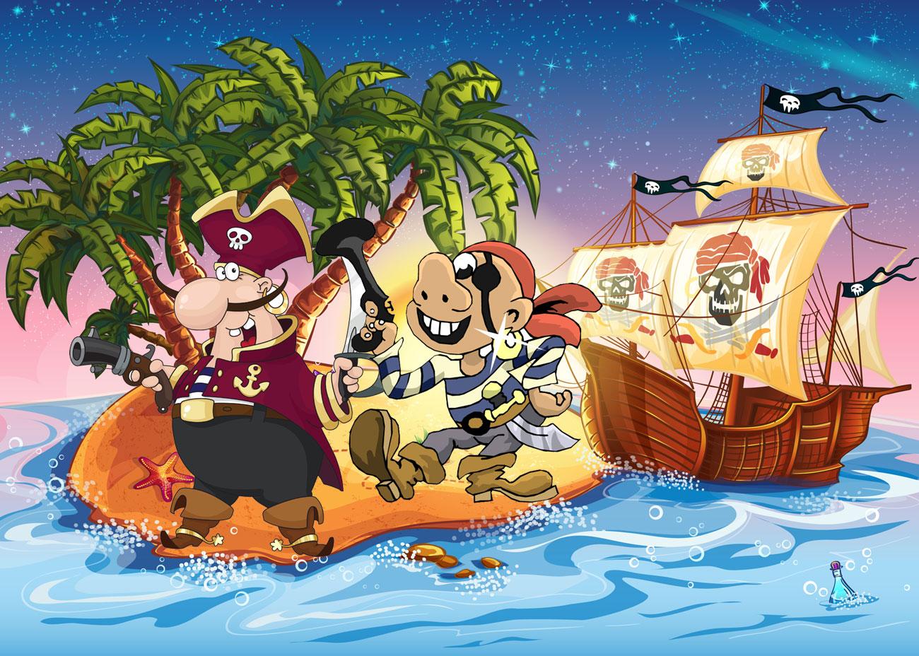 schatzsuche für kleine piraten