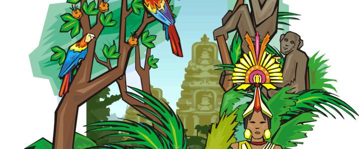 Skattjakt till djungelkalaset